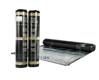 HCF—膠粉改性瀝青聚酯氈與玻纖網格布增強防水卷材